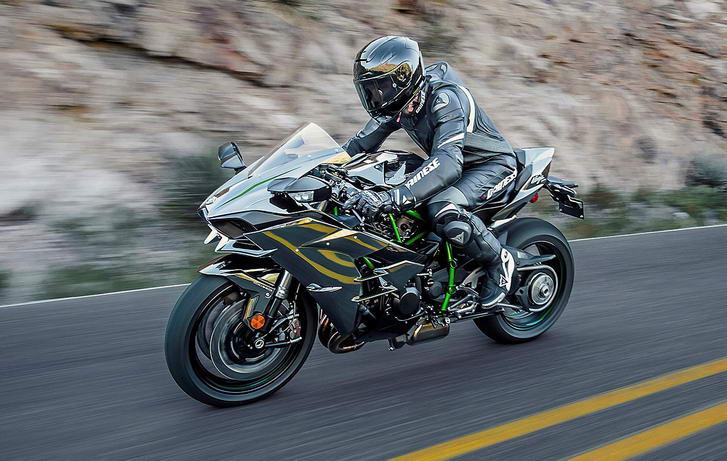 Супербайк Kawasaki Ninja H2