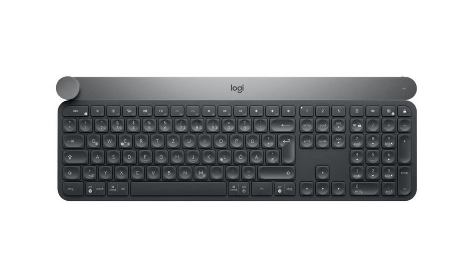 Logitech Craft Advanced keyboard Grey Bluetooth