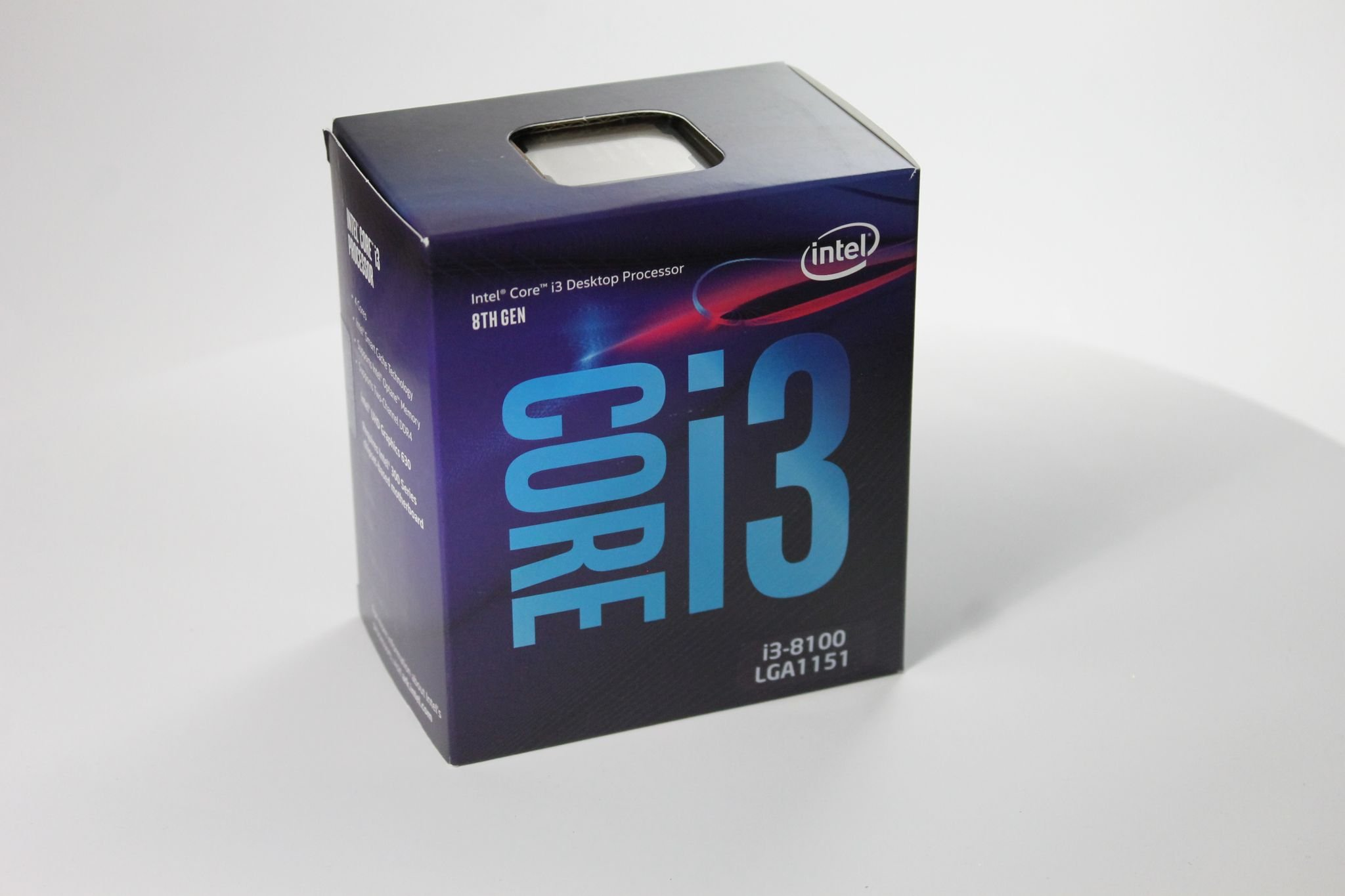 Intel Core i3-8100 Coffee Lake
