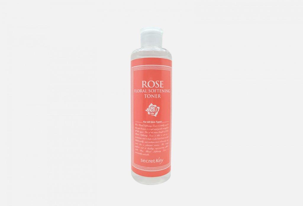Secret Key Rose Floral Softening