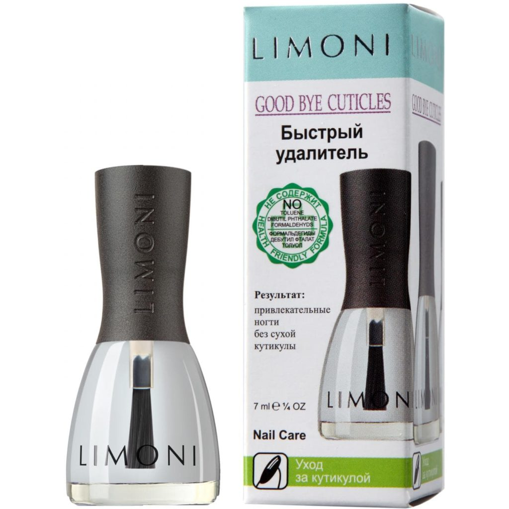 Good bye Cuticles Limoni